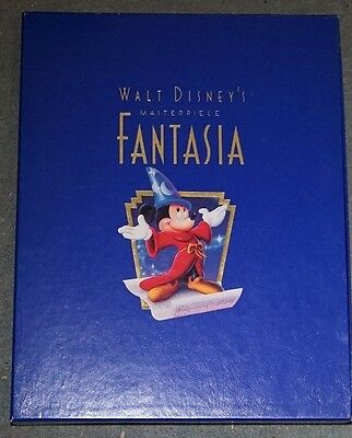 Fantasia Deluxe Collector's Edition Walt Disney Video Vhs Pal Brand New Sealed