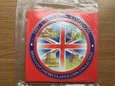 1997 Brilliant Uncirculated Sealed Coin Collection Year Set Royal Mint BU