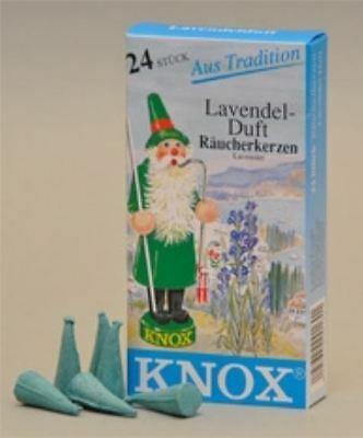 Knox Lavender Scent German Incense Cones Made in Germany for Christmas Smokers