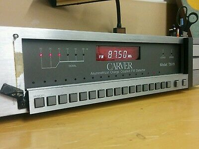 Carver TX-11 Asymmetrical Charge Coupled FM Detector Receiver Tuner