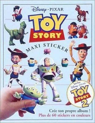 TOY STORY MAXI STICKER by Pixar Paperback Book The Cheap Fast Free Post