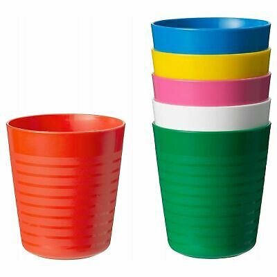 Ikea Kalas Children's Kids Plastic Cups  x6