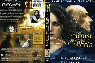 DVD: House of Sand and Fog [JENNIFER CONNELLY,BEN KINGSLEY] W/S [FREE SHIP]