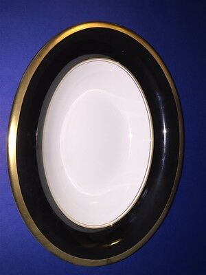 "Coalport England Athlone Brown Pattern Bone China 9 3/4"" Oval Serving Bowl"