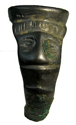 UNIQUELY  ROMAN  BELLON  RING  WITH  HUMAN  FIGURE  12.15g/28-29mm  RRR    R-514