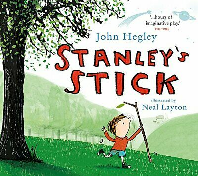 Stanley's Stick by Hegley, John Book The Cheap Fast Free Post