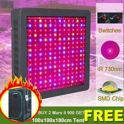 Mars Hydro Mars II 900 Led Grow Light Full Spectrum Panel Veg Flower Hydroponics