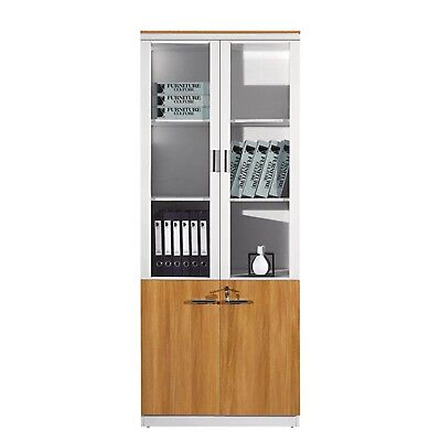 Modern Office Home 6 Door Storage Wall Display Unit Book Shelf Cabinet  C325 2D
