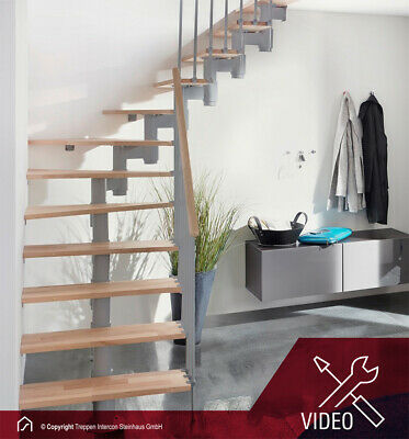 raumspartreppe torino mittelholmtreppe treppen intercon. Black Bedroom Furniture Sets. Home Design Ideas