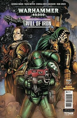 Warhammer 40000 Will Of Iron #1 (Of 4) Cover A Comic Book 2016 - Titan