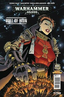 Warhammer 40000 Will Of Iron #1 (Of 4) Cover B Comic Book 2016 - Titan