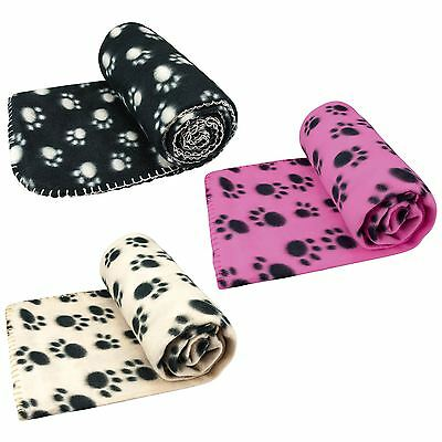 Large Pet Blanket For Dog Cat Bed . Soft Fleece New 120 X 100 Cm
