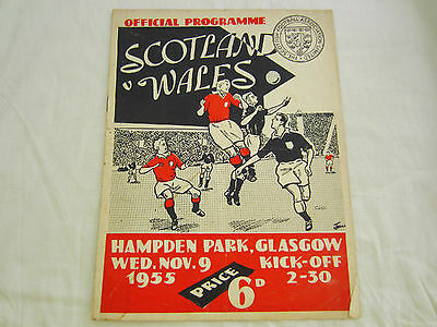 1955 INTERNATIONAL SCOTLAND v WALES