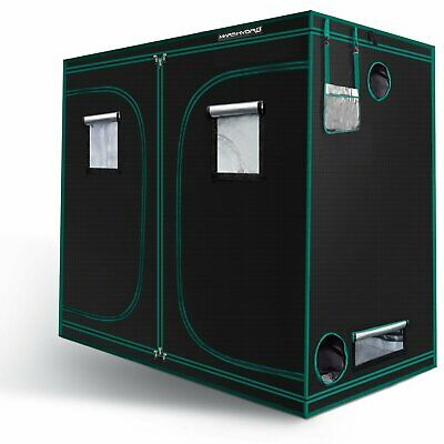 8' x 4' x 6.5' Mars Indoor Grow Tent Hydro 1680D 100% Reflective Mylar Box Room