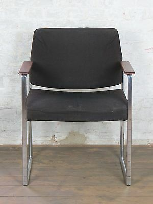 1/2 Vintage 1960´s Retro Mid-Century Cocktail Desk Armchair Teak Chair 60s 70s