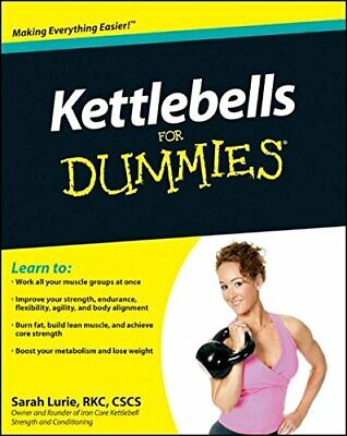 Kettlebells For Dummies, Lurie, Sarah Paperback Book The Cheap Fast Free Post