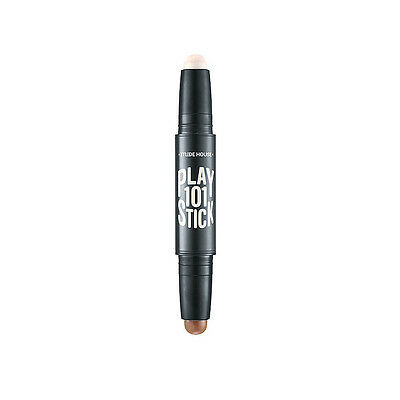 ETUDE HOUSE Play 101 Stick Contour Duo 3.4g #1 Highlighter + Shading