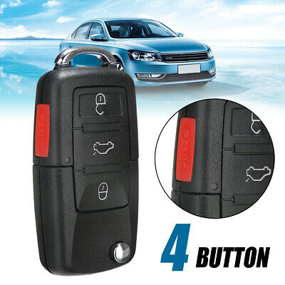 4 Button Flip Remote Key Case Shell (No Blade)for Rabbit  MK4 MK5 New