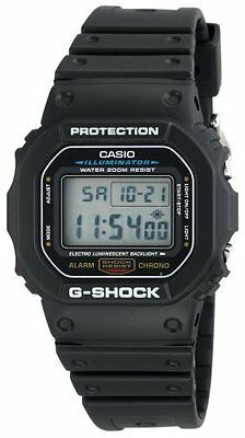 Casio G-SHOCK DW5600E-1V Wrist Watch - Men - Sports Chronograph - (dw5600e1v)