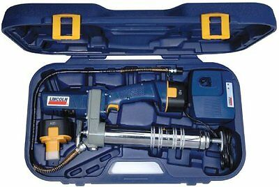 Lincoln Lubrication 1244 12 Volt Cordless Powerluber Grease Gun With Battery Kit