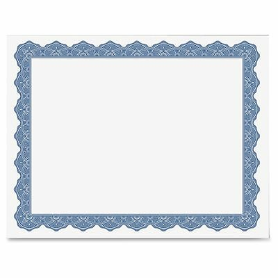 """Geographics Blank Parchment Certificate - 8.50"""" X 11"""" - Inkjet, Laser Compatible"""