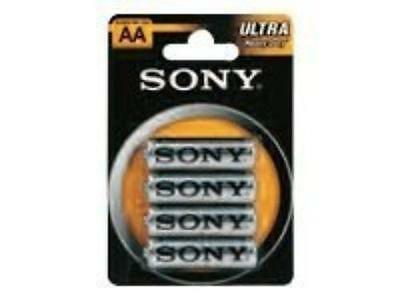Sony Ultra R6 General Purpose Battery - Aa - Zinc Chloride - 1.5 V Dc