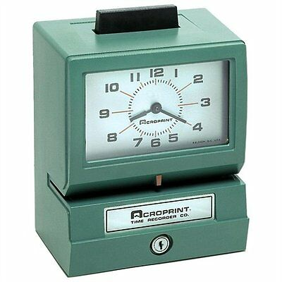 Acroprint Model 125 Time Clock - Card Punch/stamp - 100 Employee (01107040A)