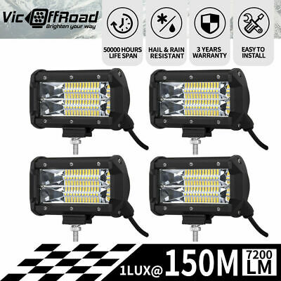 20 inch 210W Cree LED Light Bar Flood Spot Combo Work Driving Lamp Offroad