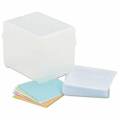 Innovera Cd/dvd Storage Box - 100 X Disc - Widthpolypropylene - Clear -