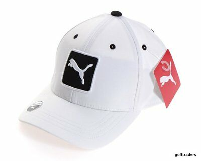 Puma Junior Golf Cap - White - New - #d1910
