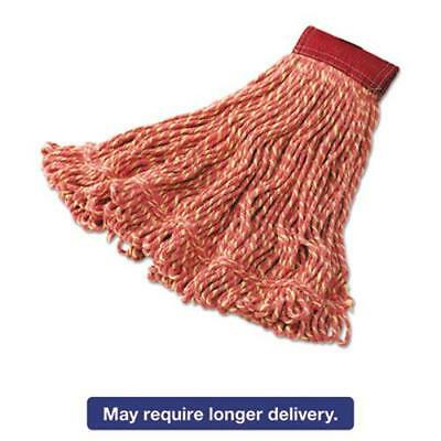 Rubbermaid D253RED Super Stitch Blend Mop Heads, Cotton/synthetic, Red, Large
