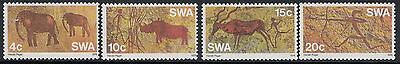 South West Africa Sg282/5 1976 Pre-Historic Rock Paintings Mnh