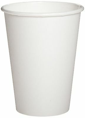 Dixie White Paper Cup For Hot Beverages - 12 Oz - 1000 / Carton - White - Paper