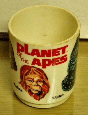 Vintage -Planet of the Apes -plastic cup (Deka)  used -VG+