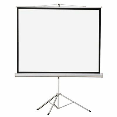 """Elunevision Tripod Projection Screen - 120"""" - 4:3 - Surface Mount - 72"""" X 96"""" -"""