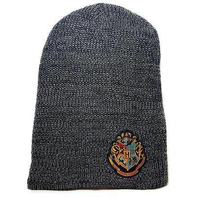 Harry Potter - Hogwarts Crest Slouch Beanie - New & Official Warner Bros