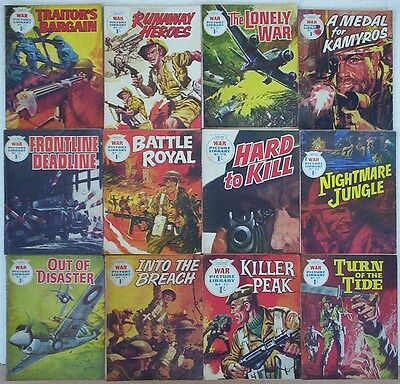Dated 1969. JOB LOT of 12 x WAR PICTURE LIBRARY Comics  #'s 501 - 529.