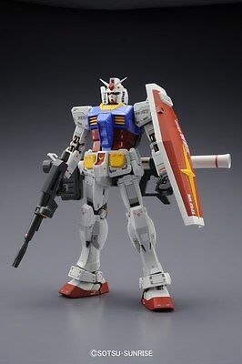 Bandai Master Grade Mg 1/100 Mobile Suit Gundam Rx-78-2 3.0 Version Nuovo New