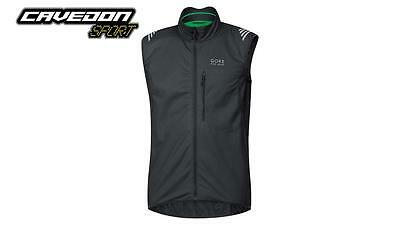 gilet GORE BIKE WEAR ELEMENT WINDSTOPPER® SOFT SHELL nero