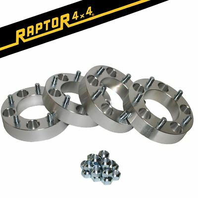 Raptor 4x4 + 45mm Aluminium Wheel Spacers x4 Land Rover Discovery 1 Defender