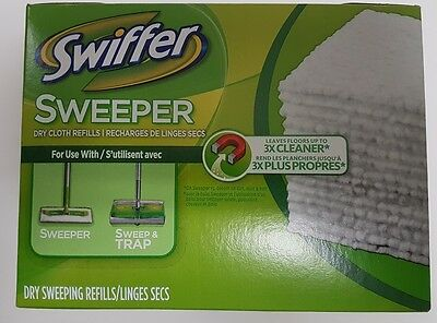 Swiffer Sweeper Dry Sweeping Pads Unscented 40 Count
