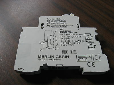 Merlin Gerin 26925 Auxiliary Contact