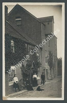Mill, Unkown Mill, Unknown Location, c1910. Real Photograph, RP Postcard. (2796)