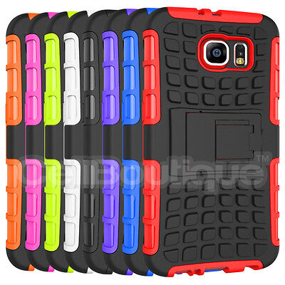 ShockProof Tough Hard Case Cover For Samsung Galaxy S6 S5 Mini Edge