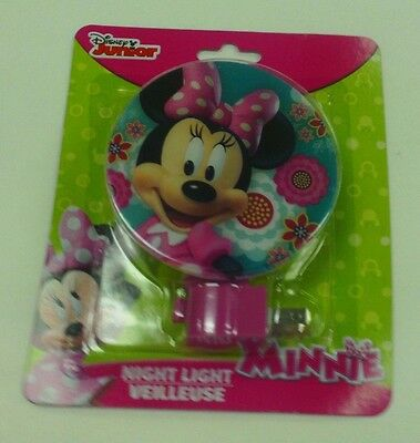 Disney Minnie Mouse Flower Night Light Rotary Shade Fully Licensed #1