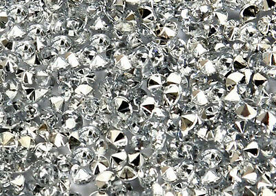 Silver Wedding/Party Table Gems/Confetti/Decorations Crystals 4.5mm 1/3 Carat