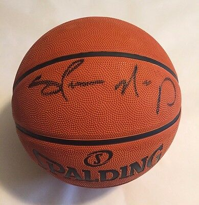 Shawn Kemp Autographed Full Size NBA Basketball Tristar Authenticated