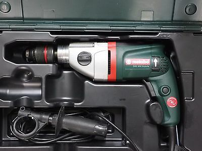 Metabo SBE 850 Impulse 850W 2-Speed Impact Hammer Drill in case