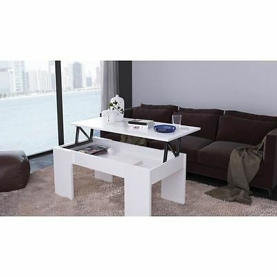 SWING Table basse transformable 100x50 cm - Blanc mat - SWING Table NEUF
