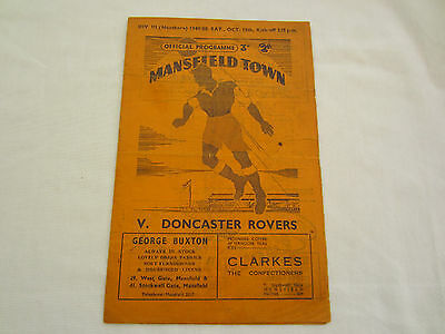 1949-50 DIV 3 MANSFIELD TOWN v DONCASTER ROVERS